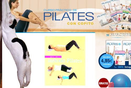 Pilates con Copito